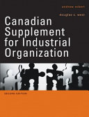 Canadian Supplement for Industrial Organization