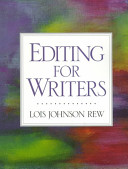 Editing for Writers