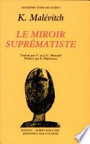 Le Miroir supr  matiste