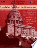 Legislative Branch Of The Government Ebook