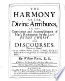 The Harmony of the Divine Attributes