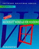 Using Microsoft Word 6 0 for Windows