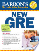 Barron s New GRE Graduate Record Examination