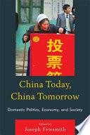 China Today  China Tomorrow