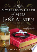 The Mysterious Death of Miss Jane Austen Book PDF