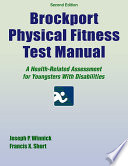Brockport Physical Fitness Test Manual 2nd Edition