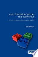 State Formation  Parties and Democracy