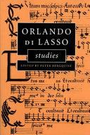 Orlando Di Lasso Studies Most Popular Composer Of The Second Half Of