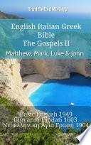 Stiahnuť PDF English Italian Greek Bible - The Gospels II - Matthew