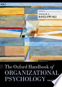 The Oxford Handbook of Organizational Psychology