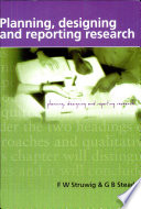 Planning, Reporting & Designing Research