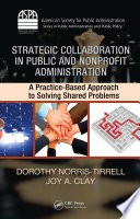 Strategic Collaboration in Public and Nonprofit Administration