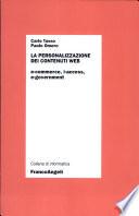 La personalizzazione dei contenuti Web  E commerce  i access  e government