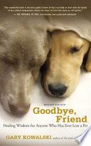 Goodbye  Friend Book PDF