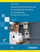 Manual de evaluacion de la calidad del servicio en enfermeria   Manual Evaluation of Service Quality in Nursing Calidad De Los Servicios De Enfermeria