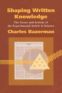 Shaping Written Knowledge