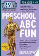 Star Wars Workbook, Preschool ABC Fun