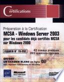 MCSA Windows Server 2003