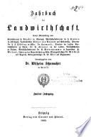 Jahrbuch der Landwirthschaft