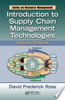 Introduction to Supply Chain Management Technologies  Second Edition