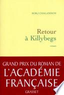 Retour Killybegs Grand Prix Du Roman De L Acad Mie Fran Aise 2011