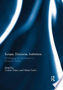 Europe  Discourse  and Institutions