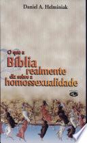 O que a Biblia realmente diz sobre homossexualidade