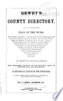 Dewey's County Directory ; Galesburg City Directory