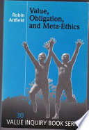 Value  Obligation  and Meta ethics