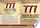 777 Noms de Dieu révélés dans la Bible