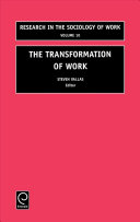 The Transformation of Work