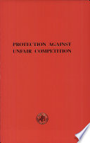 Protection Against Unfair Competition