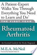 The First Year  rheumatoid Arthritis