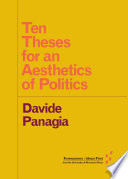 Ten Theses for an Aesthetics of Politics
