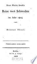 Reise durch Schweden im Jahr 1804