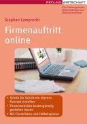 Firmenauftritt online