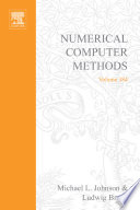 Numerical Computer Methods Part E book