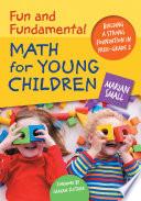 Fun Fundamental Math For Young Children