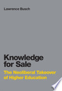 The Knowledge for Sale