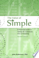 The Value Of Simple 2nd Ed