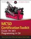 MCSD Certification Toolkit  Exam 70 483