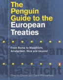 The Penguin Guide to the European Treaties