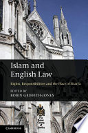 Islam And English Law book