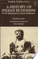A History of Indian Buddhism