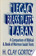 Ebook The Legacy of the Brass Plates of Laban Epub H. Clay Gorton Apps Read Mobile
