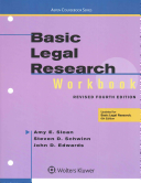 Basic Legal Research Workbook Revised 4e