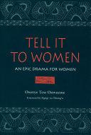 download ebook tell it to women pdf epub
