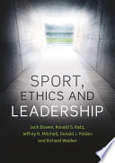 Sport  Ethics and Leadership
