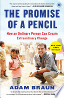 The Promise Of A Pencil : job to found the nonprofit pencils of promise,...