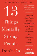 download ebook 13 things mentally strong people don\'t do pdf epub